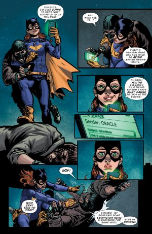 Batgirl and the Birds of Prey Rebirth #1 DC Comics Spoilers B