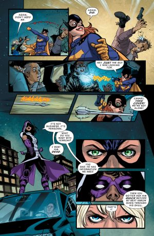 Batgirl and the Birds of Prey Rebirth #1 DC Comics Spoilers G