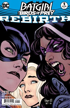 Batgirl and the Birds of Prey Rebirth #1 spoilers preview 1