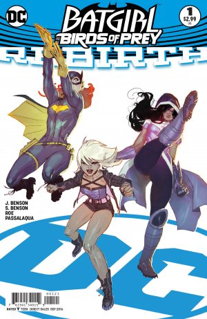 Batgirl and the Birds of Prey Rebirth #1 spoilers preview 2