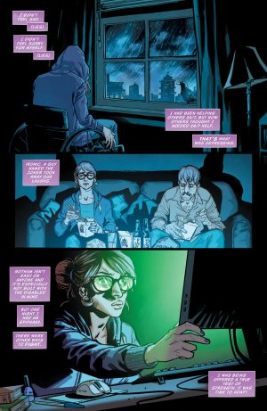 Batgirl and the Birds of Prey Rebirth #1 spoilers preview 4
