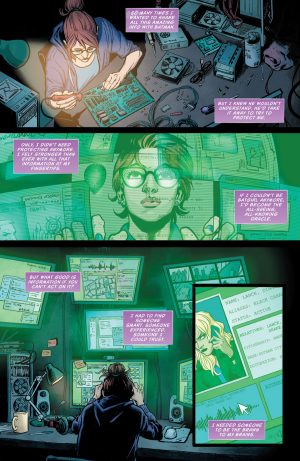 Batgirl and the Birds of Prey Rebirth #1 spoilers preview 5