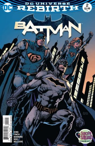 Batman #2 Rebirth DC Comics spoilers preview 1