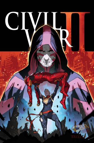 Civil War II #7 cover