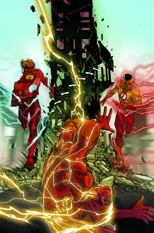DC Comics Rebirth The Flash #9 The Kid Flash of Two Worlds DC Universe Rebirth #1 sequel