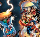 DC Universe Rebirth #1 variant with JSA and more banner