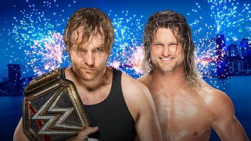 Dolph Ziggler vs Dean Ambrose for WWE Smackdown Live WWE Championship