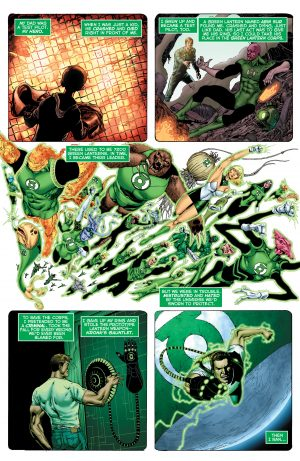 Hal Jordan and the Green Lantern Corps Rebirth #1 spoilers 1