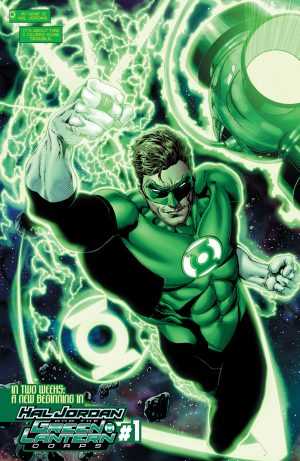Hal Jordan and the Green Lantern Corps Rebirth #1 spoilers 10
