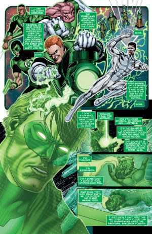 Hal Jordan and the Green Lantern Corps Rebirth #1 spoilers 2