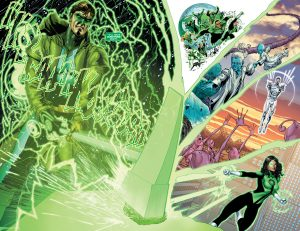 Hal Jordan and the Green Lantern Corps Rebirth #1 spoilers 3