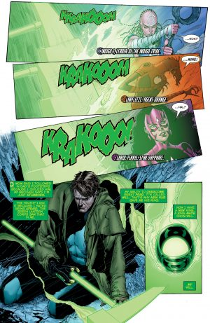 Hal Jordan and the Green Lantern Corps Rebirth #1 spoilers 5