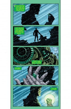 Hal Jordan and the Green Lantern Corps Rebirth #1 spoilers 7