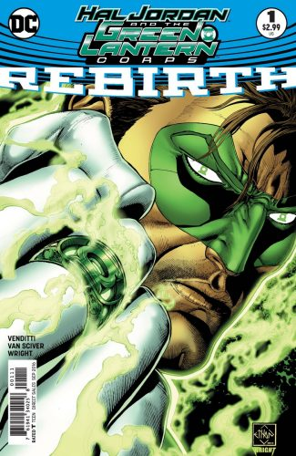 Hal Jordan & the Green Lantern Corps Rebirth #1 spoilers preview A