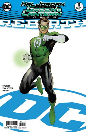 Hal Jordan & the Green Lantern Corps Rebirth #1 spoilers preview B