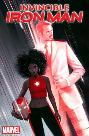 Invincible Iron Man Riri Williams