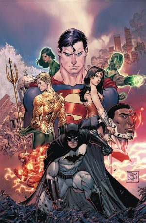 Justice League #1 DC Rebirth