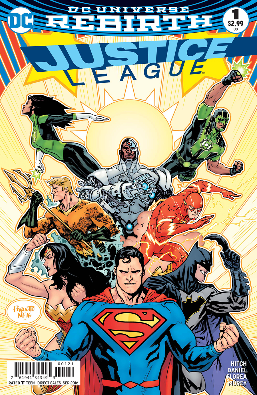 The Justice Tarot Card Meaning In Readings Verdict: DC Comics Rebirth Justice League #1 Spoilers & Review
