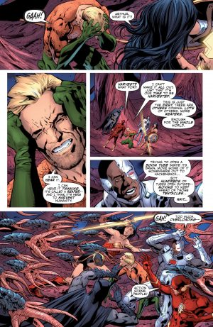 Justice League Rebirth #1 spoilers DC Comics 4