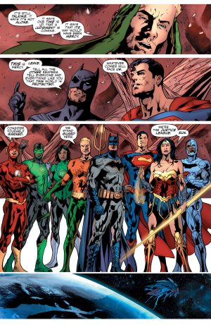 Justice League Rebirth #1 spoilers DC Comics 7