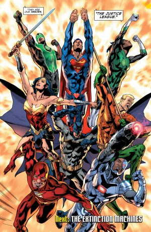 Justice League Rebirth #1 spoilers DC Comics 9