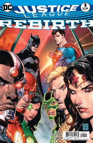 Justice League Rebirth #1 spoilers preview DC Comics 1