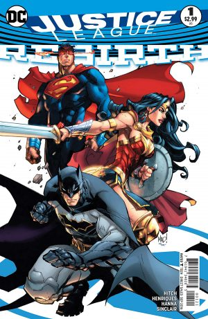 Justice League Rebirth #1 spoilers preview DC Comics 2
