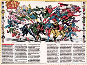 Justice Society of America JSA Who's Who in the DC Comics