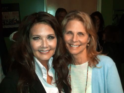 Lindsay Wagner and Lynda Carter now
