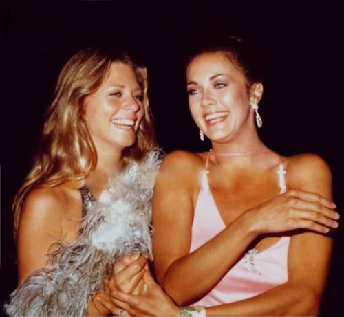 Lindsay Wagner and Lynda Carter then