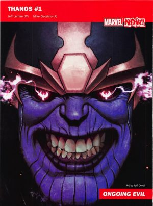 Marvel Now 2016 Thanos #1