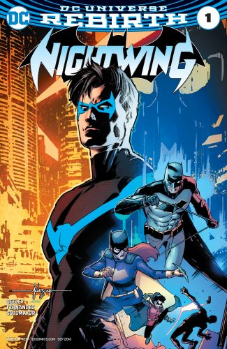 Nightwing #1 DC Comics Rebirth Spoilers 1
