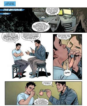 Nightwing Rebirth #1 spoilers DC Comics Rebirth 0