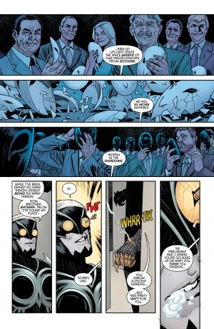 Nightwing Rebirth #1 spoilers DC Comics Rebirth 1