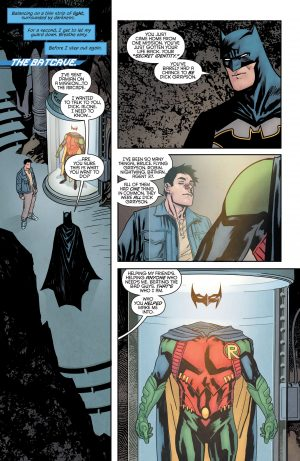 Nightwing Rebirth #1 spoilers DC Comics Rebirth 3