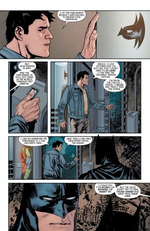 Nightwing Rebirth #1 spoilers DC Comics Rebirth 4