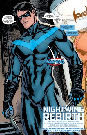 Nightwing Rebirth #1 spoilers DC Comics Rebirth 5