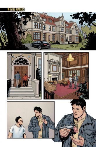 Nightwing Rebirth #1 spoilers preview 3