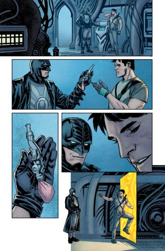 Nightwing Rebirth #1 spoilers preview 5