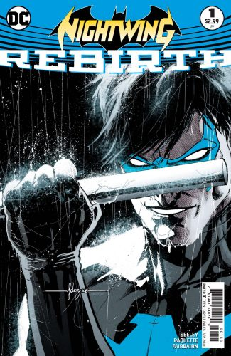 Nightwing Rebirth #1 spoilers preview dc 1