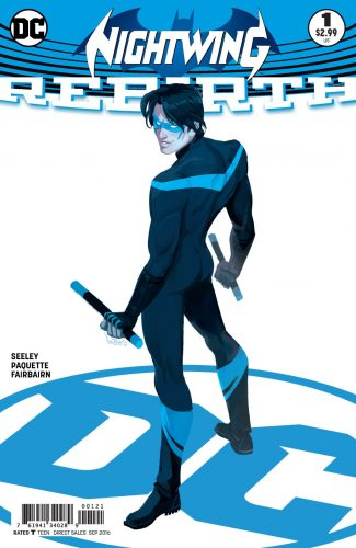 Nightwing Rebirth #1 spoilers preview dc 2