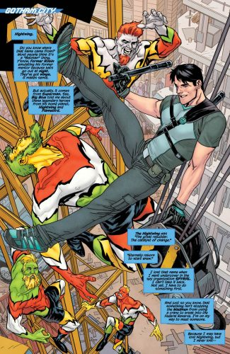 Nightwing Rebirth #1 spoilers preview dc 3
