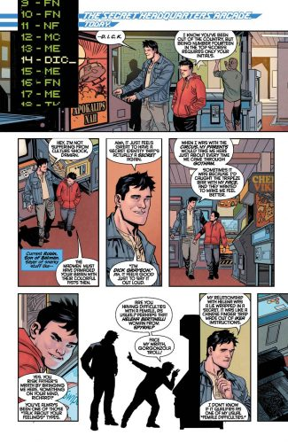 Nightwing Rebirth #1 spoilers preview dc 4