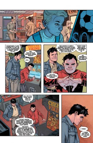 Nightwing Rebirth #1 spoilers preview dc 5
