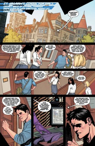 Nightwing Rebirth #1 spoilers preview dc 6