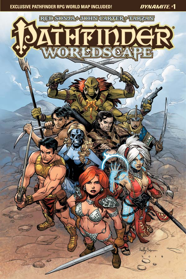 SDCC 2016: Dynamite & Paizo Join Forces For Pathfinder: Worldscape