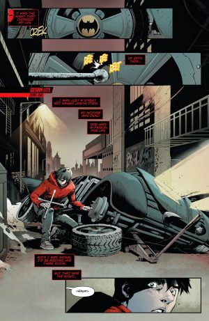 Red Hood and the Outlaws Rebirth #1 spoilers DC Comics preview 3