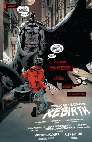Red Hood and the Outlaws Rebirth #1 spoilers DC Comics preview 4