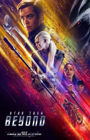 Star Trek Beyond poster dos