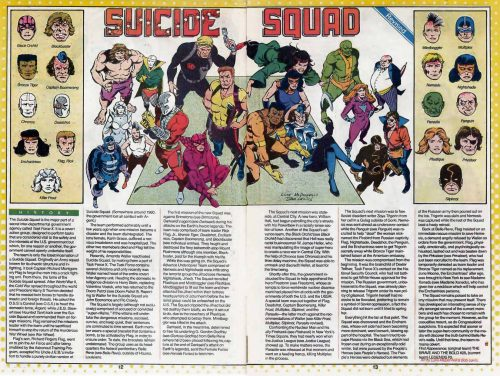 Suicide Squad DC Comics Who's Who 3
